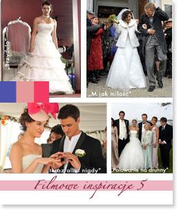 Filmowe inspiracje ślubne