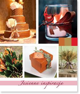 Jesienne inspiracje ślubne