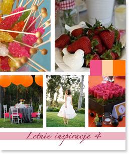Letnie inspiracje ślubne