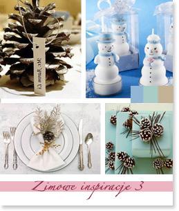 Zimowe inspiracje ślubne
