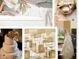 Złote inspiracje ślubne